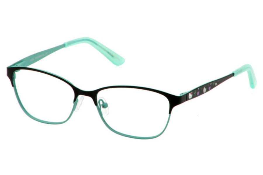 Hello Kitty HK 292 Eyeglasses in Black