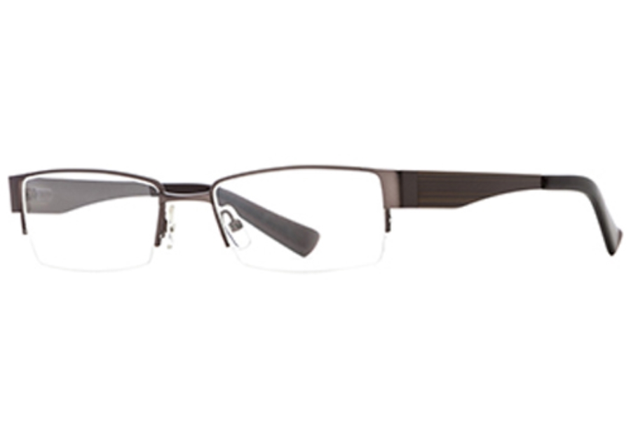 Hickey Freeman Bedrock Eyeglasses in Brown