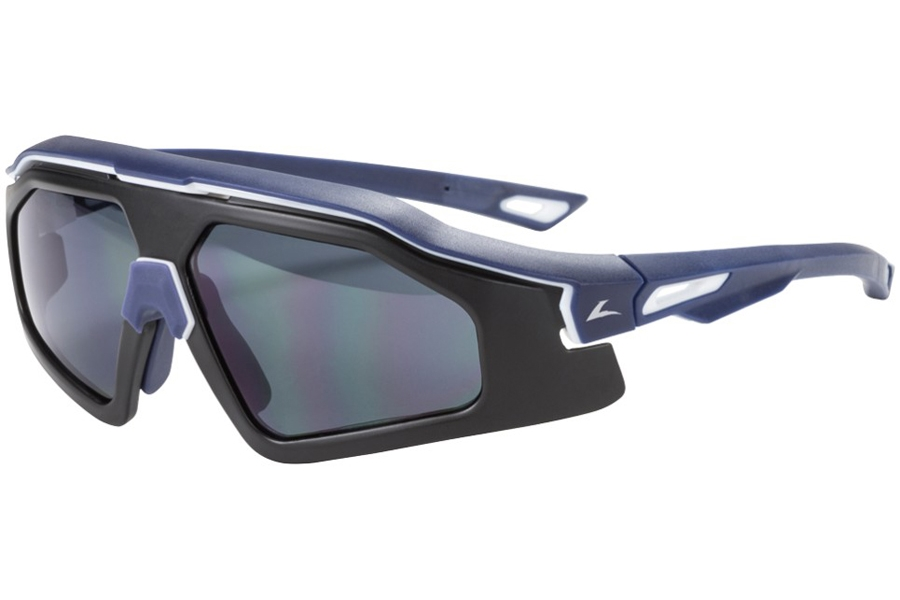 Hilco Leader Sports Trail Blazer Sunglasses in Matte Navy/White