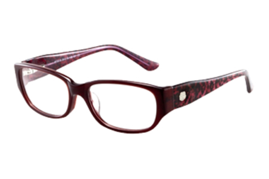 Hilco AF700 Eyeglasses in 377000001 Raspberry/Cheetah
