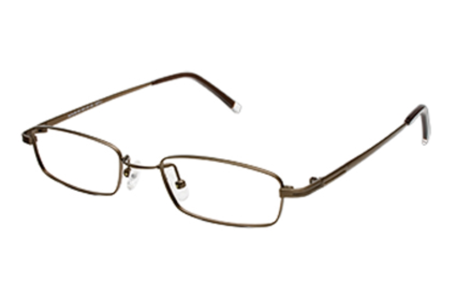 Hilco LeaderMax 501 Eyeglasses in 375010022 Dark Bronze (50-19-140)
