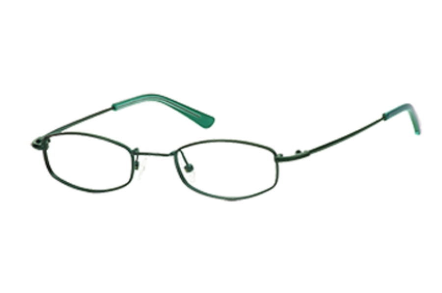 Hilco LeaderMax LM302 Eyeglasses in 383020011 Forest Green (44-20-120)