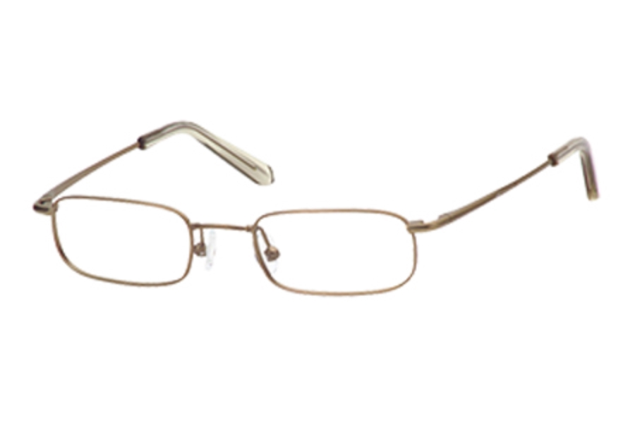 Hilco LeaderMax LM304 Eyeglasses in 383040022 Antique Gold (45-20-130)