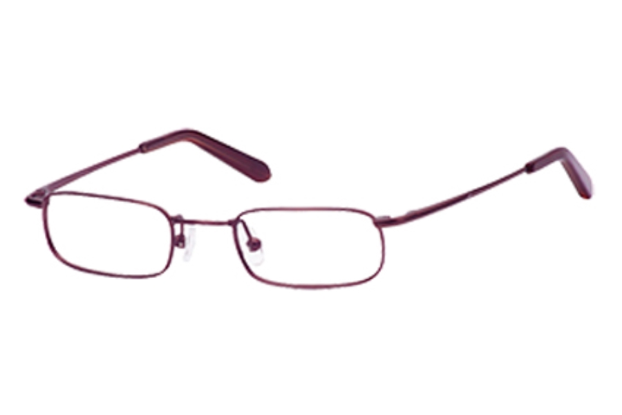 Hilco LeaderMax LM304 Eyeglasses in 383040033 Burgundy (45-20-130)