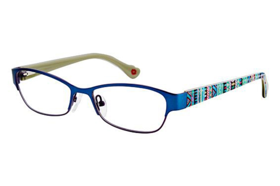 Hot Kiss HK67 Eyeglasses in BLU Blue