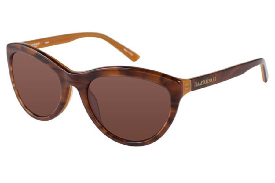 Isaac Mizrahi IM 30223 Sunglasses in Brown