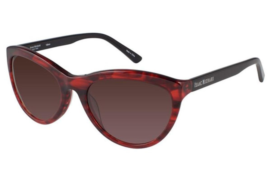 Isaac Mizrahi IM 30223 Sunglasses in Red