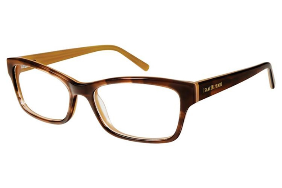 Isaac Mizrahi IM 30028 Eyeglasses in Brown