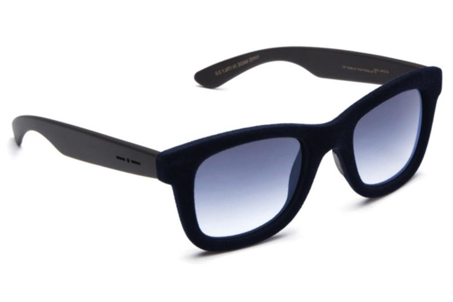 b846f2c30 Italia Independent I-I MOD 090V CAT 2 Sunglasses in 02 Blue - Lente  Gradient/Grey ...