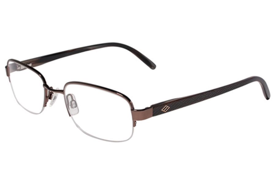 Joseph Abboud JA163 Eyeglasses in 002 Log Cabin