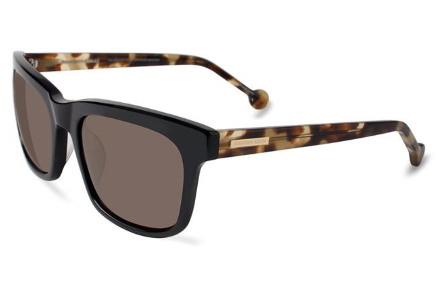 Jonathan Adler Acapulco UF Sunglasses in Black