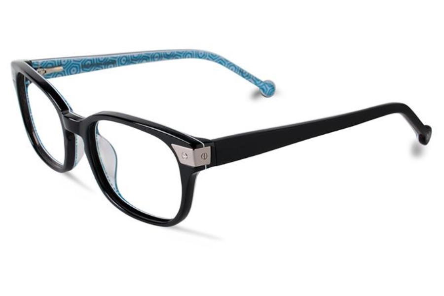 Jonathan Adler JA304 UF Eyeglasses in Black