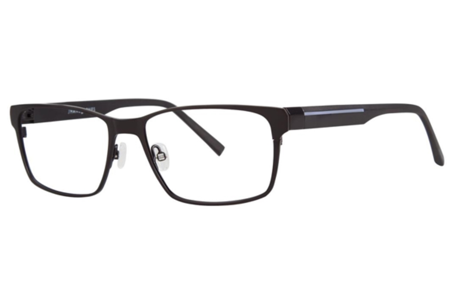 Jhane Barnes Transcendental Eyeglasses in Black