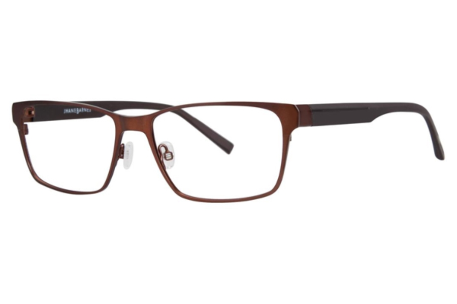 Jhane Barnes Transcendental Eyeglasses in Brown