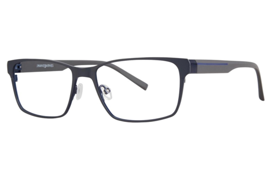 Jhane Barnes Transcendental Eyeglasses in Steel