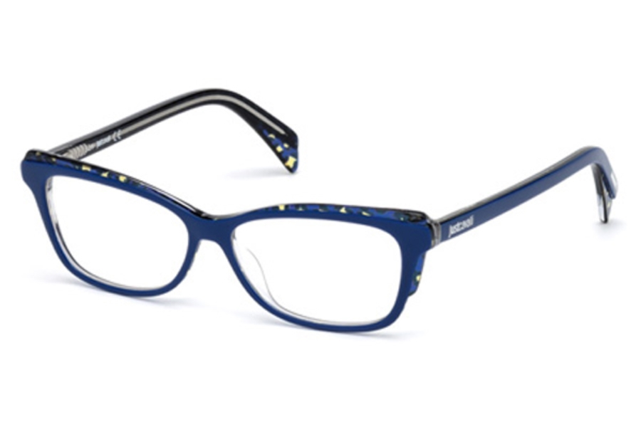 Just Cavalli JC0771 Eyeglasses in 092 - Blue/Other