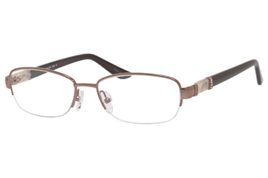 Joan Collins 9852 Eyeglasses in Brown