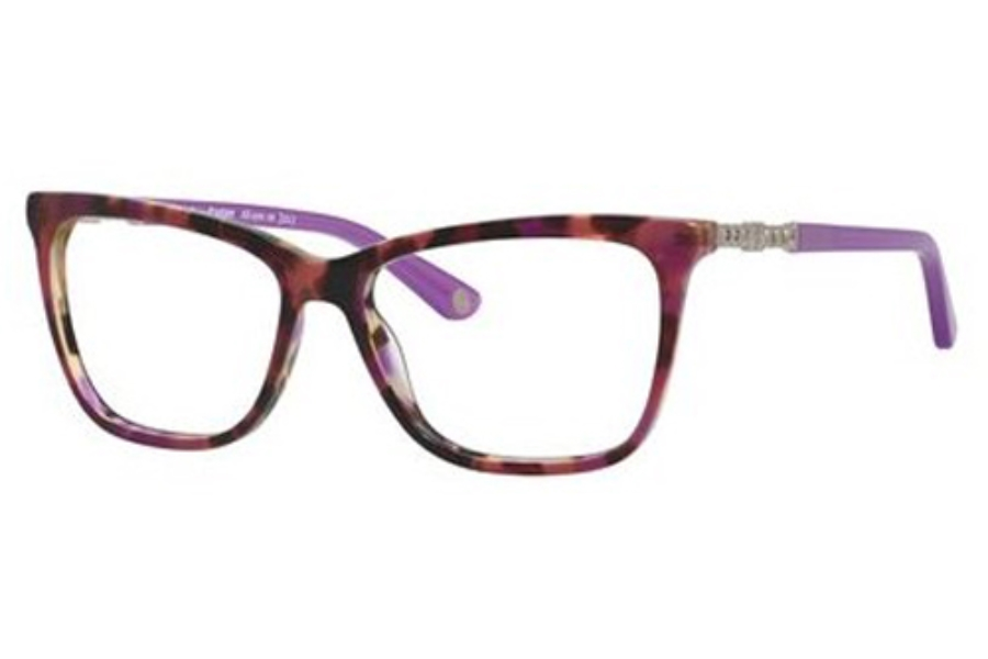 Juicy Couture JUICY 166 Eyeglasses in 009R Havana Cyclamen