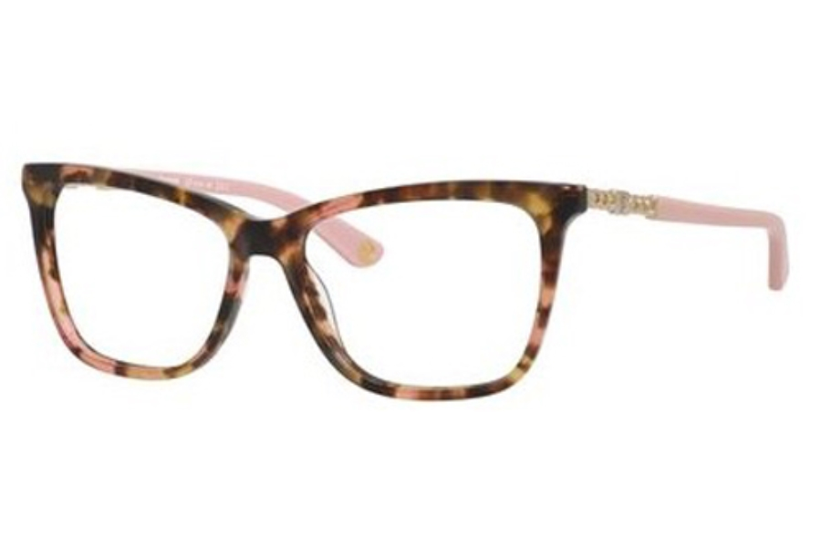 Juicy Couture JUICY 166 Eyeglasses in 00A0 Havana Blush