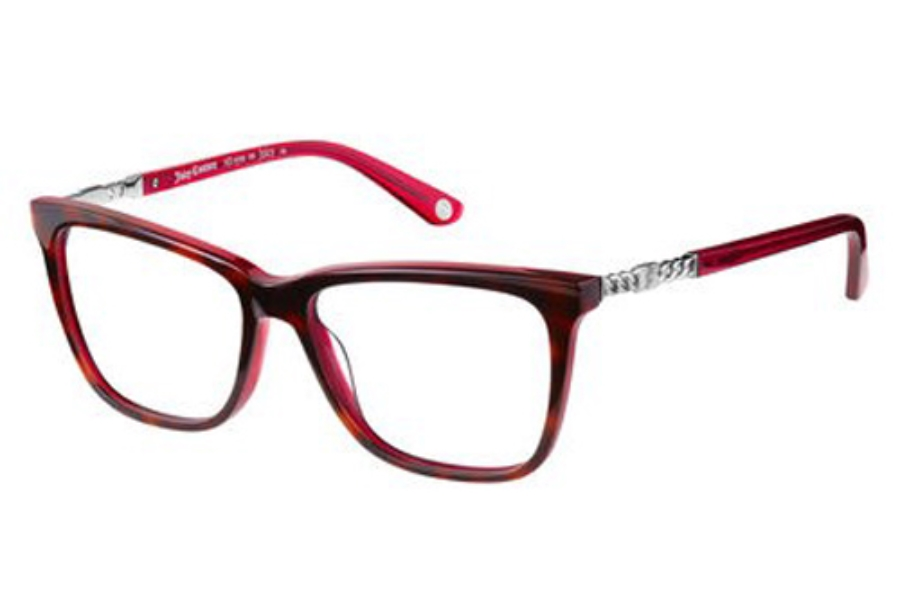 Juicy Couture JUICY 166 Eyeglasses in 00A1 Havana Red Transparent