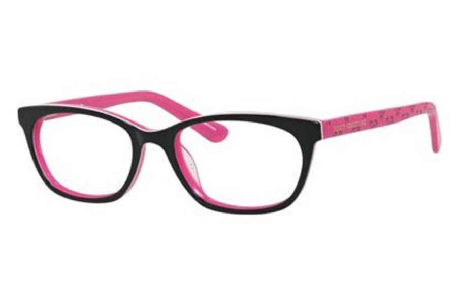 Juicy Couture JUICY 931 Eyeglasses in 03H2 Black Pink