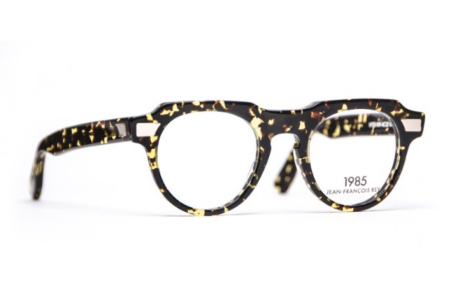J.F. Rey 1985 Viper Eyeglasses in 9595 Demi Gold Metal With Clip