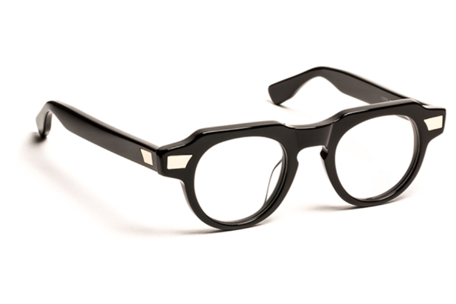 J.F. Rey 1985 Viperxs Eyeglasses in 0000 Black+Gold Metal
