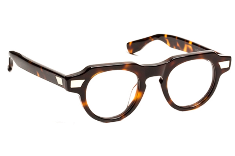 J.F. Rey 1985 Viperxs Eyeglasses in 9595 Demi + Gold Metal