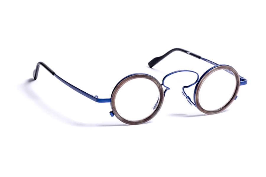 2c295bde302 J.F. Rey 1985 Gatsby Eyeglasses in 2099 Blue   Matt Demi ...