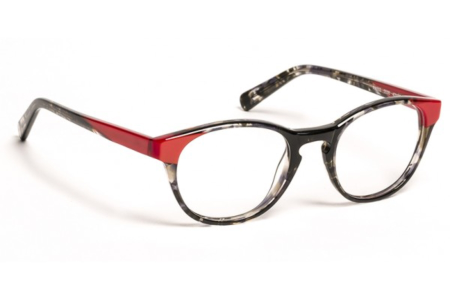 J.F. Rey Petite PA 032 Eyeglasses in 0530 Black / Red