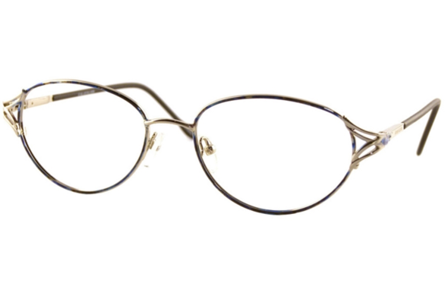 Americana Jackie Eyeglasses in Demi Purple/Gold