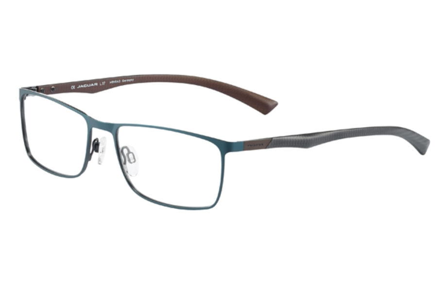 Jaguar Spirit Jaguar Spirit 33580 Eyeglasses in 1027 Petrol-Brown