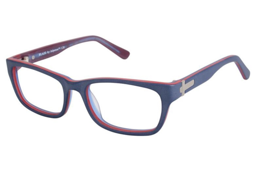 Jalapenos Blaze Eyeglasses in Navy