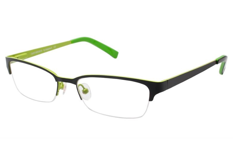 Jalapenos Cant Hold Us Eyeglasses in Black/Lime