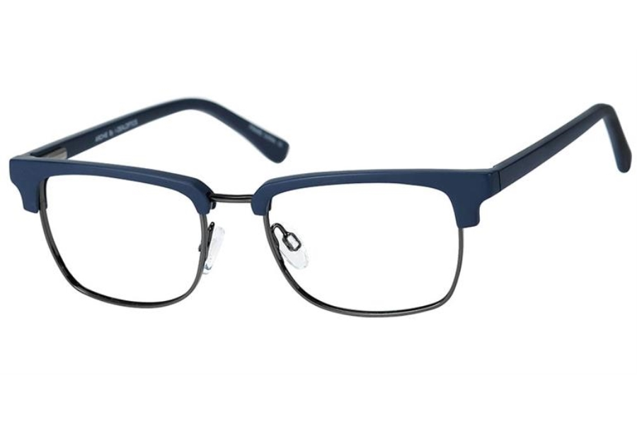 Jelly Bean Archie Eyeglasses in Navy