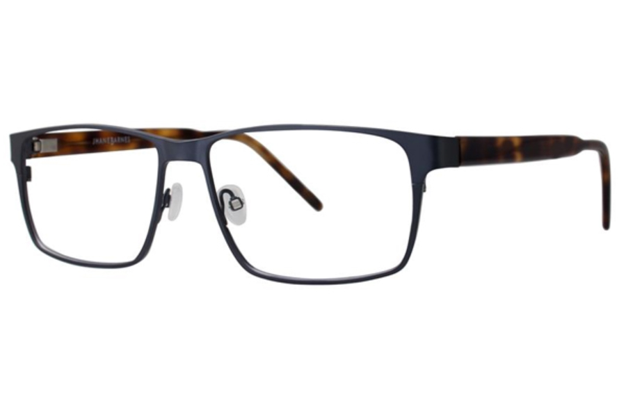 Jhane Barnes Code Eyeglasses in Steel