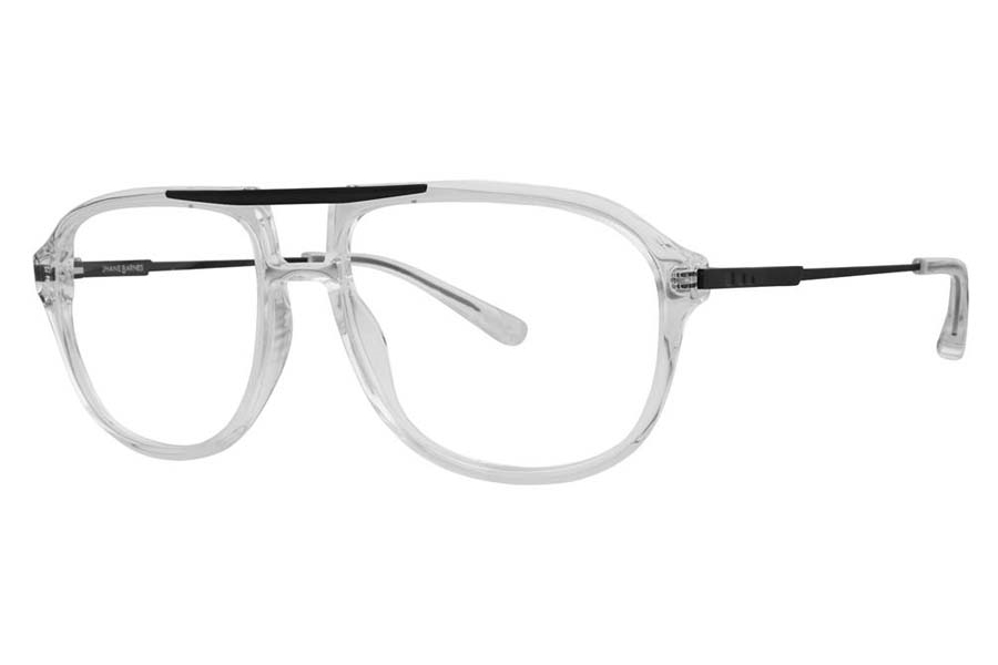Jhane Barnes Transpose Eyeglasses in Crystal