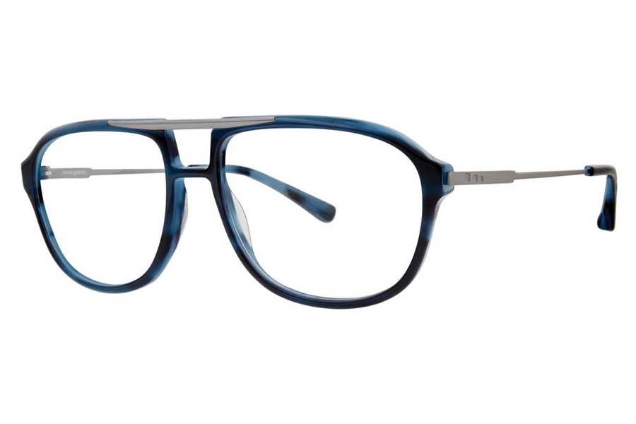 Jhane Barnes Transpose Eyeglasses in Navy