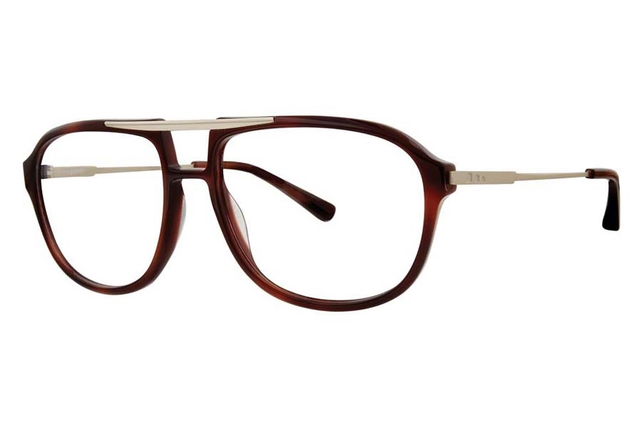 Jhane Barnes Transpose Eyeglasses in Tortoise