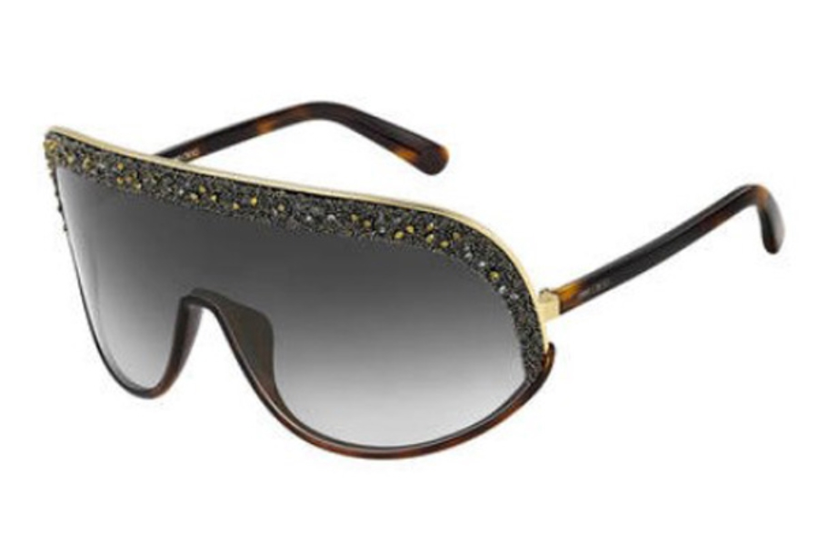 Jimmy Choo SIRYN/S Sunglasses in 0J5G Gold (FQ gray sf gold sp lens)