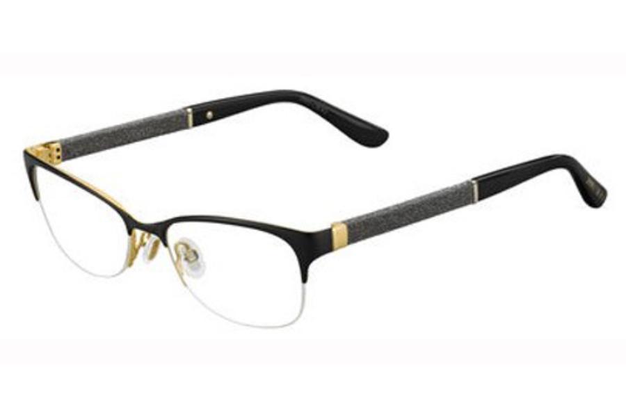9fe3bdd22ca0 Jimmy Choo Jimmy Choo 106 Eyeglasses in 0LVC Matte Black ...