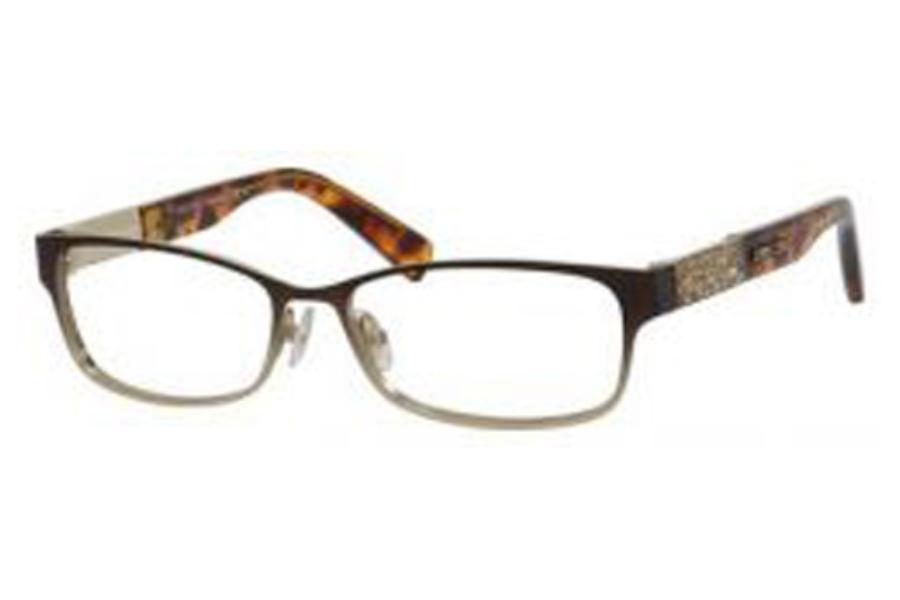 a36ac48437bf ... Jimmy Choo Jimmy Choo 124 Eyeglasses in 0VUQ Matte Brown ...