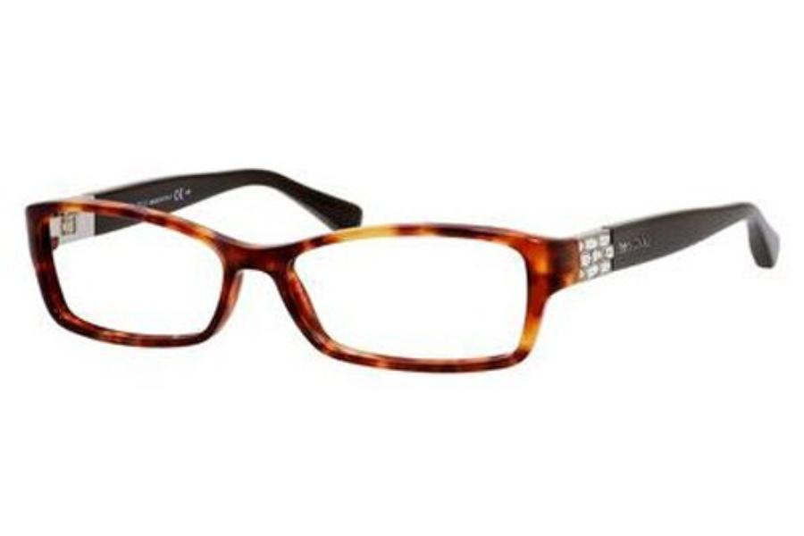 ff4ead72c7 ... Jimmy Choo Jimmy Choo 41 Eyeglasses in 06VI Red Havana Brown ...