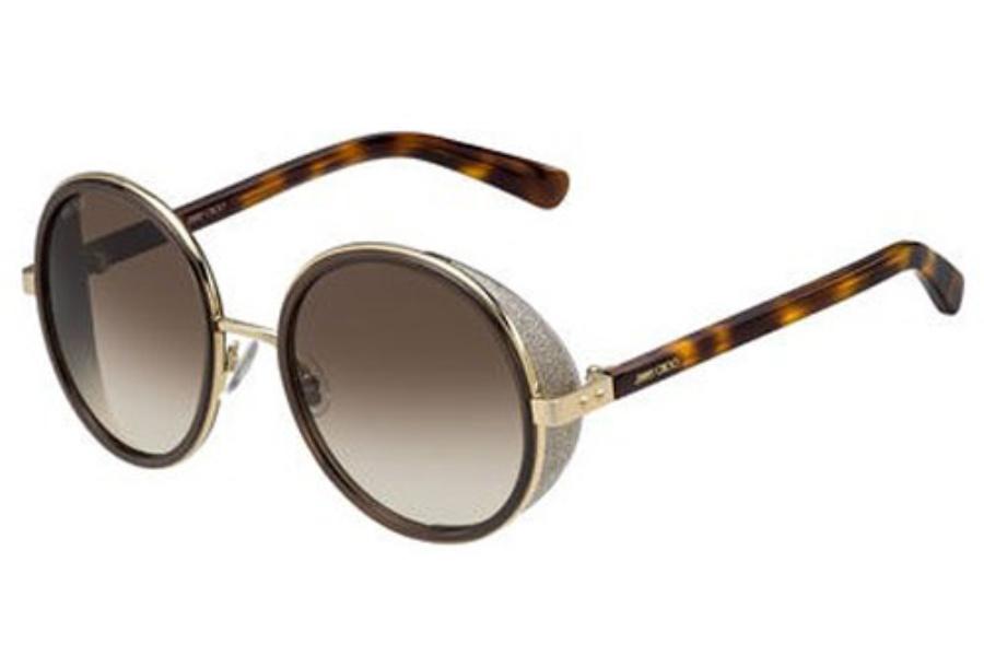 0d06d5e7cf31 ... gray  Jimmy Choo ANDIE S Sunglasses in 0J7G Rose Gold   Brown (JD brown  gradient ...