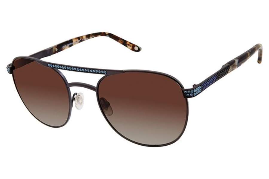 Jimmy Crystal New York JCS129 Sunglasses in Jimmy Crystal New York JCS129 Sunglasses