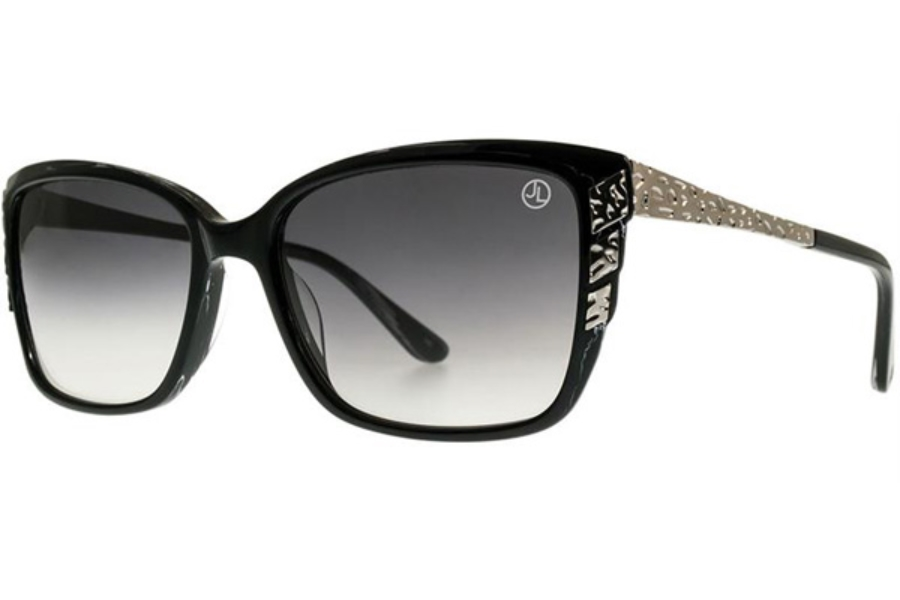 Judith Leiber JLS3030 Sunglasses in Ebony