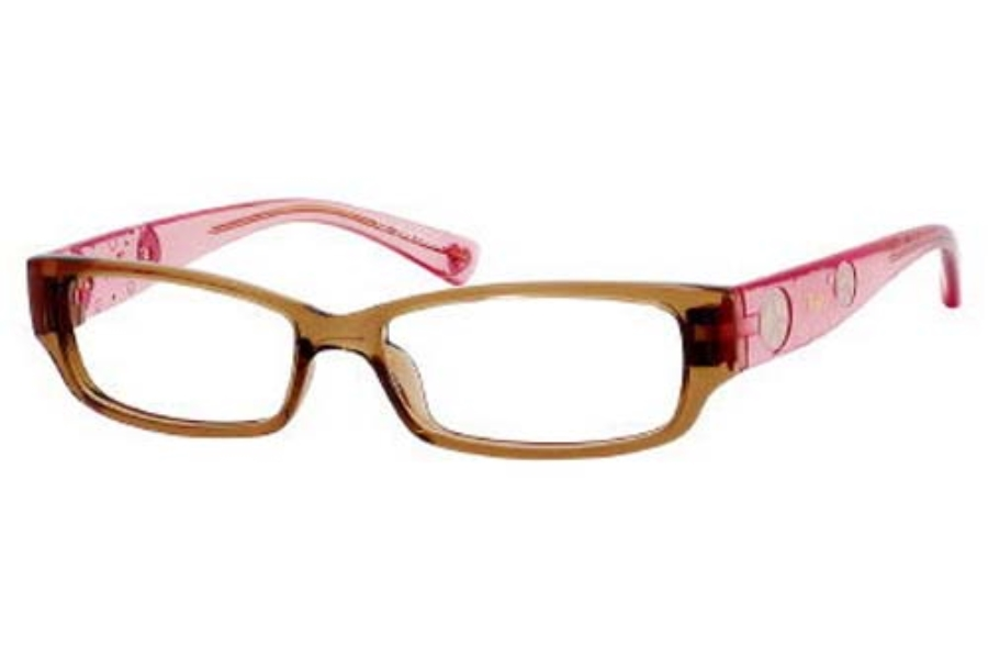 Juicy Couture LITTLE DRAMA Eyeglasses in 0DJ3 Brown Pink Fade