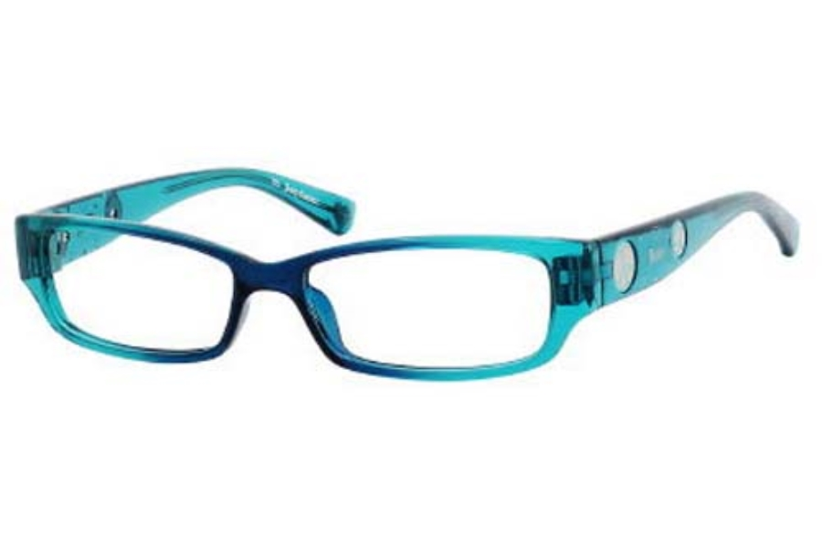 Juicy Couture LITTLE DRAMA Eyeglasses in 0DN1 Navy Teal
