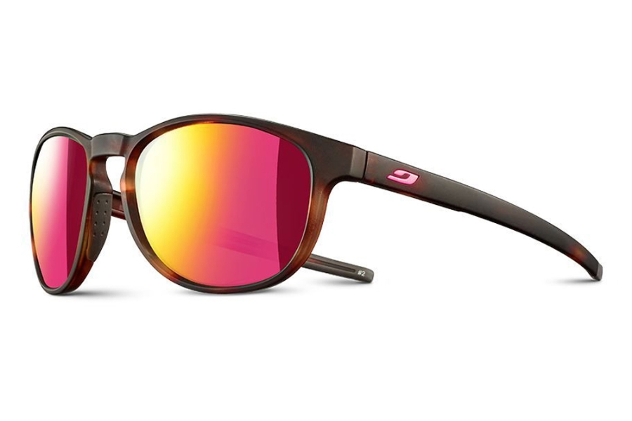 Julbo Elevate Sunglasses in J5161151 Brown Tortoiseshell / Pink