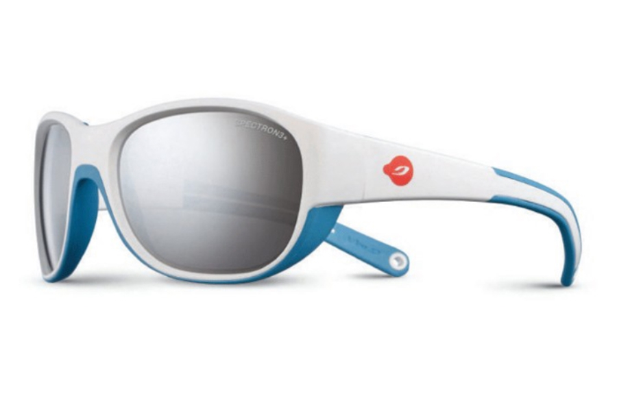 Julbo Luky Sunglasses in J4911111 White / Blue